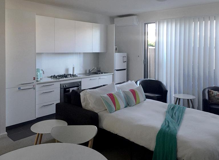 1ベットルームのアパートメント1