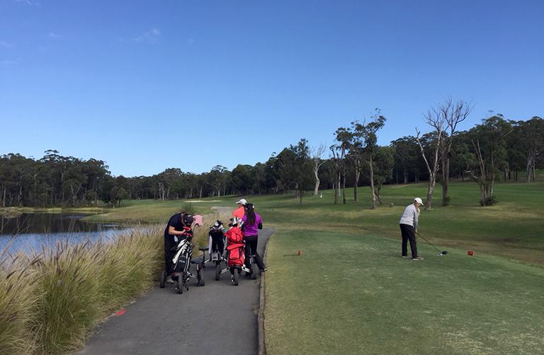 チャールスタウンゴルフクラブコース写真1