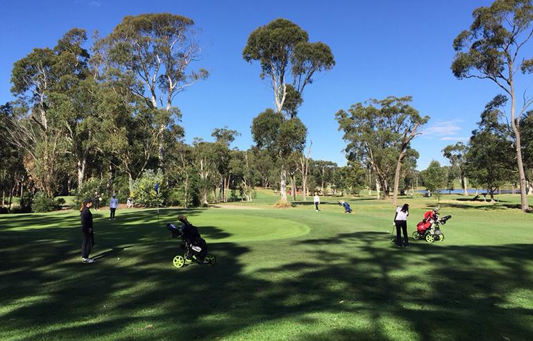 チャールスタウンゴルフクラブコース写真3
