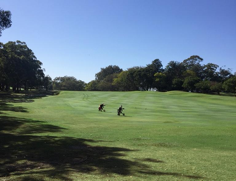 バーリーゴルフクラブコース写真